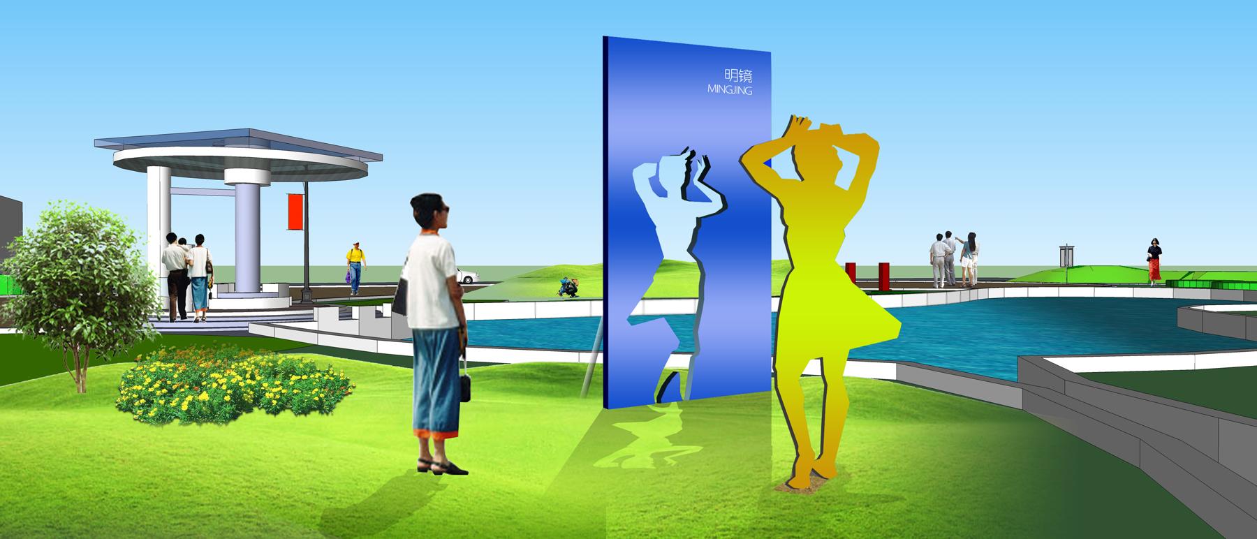 法制文化公园景观设计_主题空间景观小品_图圣环境雕塑